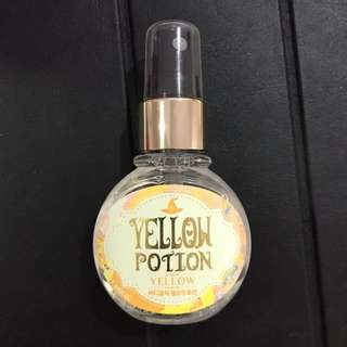 Perfume hair and body mist body holic yellow potion