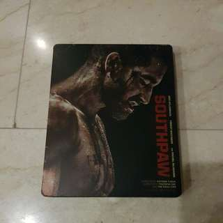 Southpaw Blu Ray Steelbook