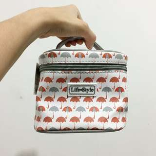 Makeup pouch by Miniso