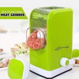 Multifunctional Manual Meat Grinder (Green)