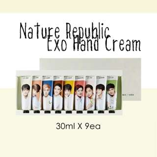 [SET] NATURE REPUBLIC EXO HAND CREAM