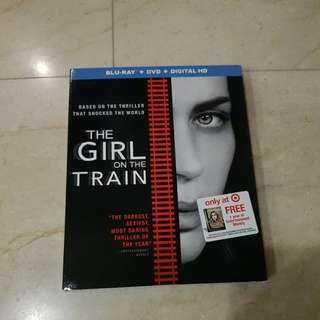 The Girl on the Train Blu Ray