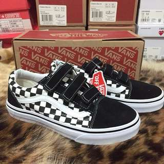 Vans Oldskool V Checkerboard Print Shoes