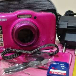 Underwater Camera Nikon Coolpix S32