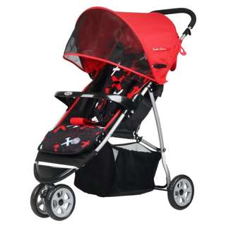 Sweet Cherry LC200 Tulsa Jogger (Red)