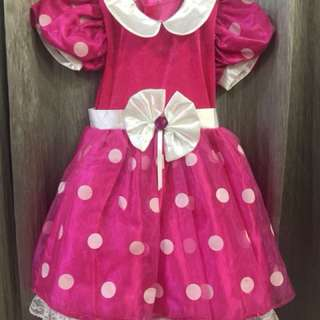 HK disneyland minnie mouse dress