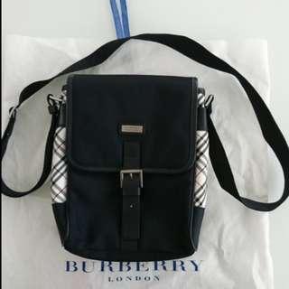 (包送貨)日本製Burberry Black Label限量版斜孭袋Limited Edition shoulder bag