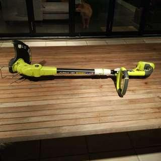 Ryobi One+ 18V 4.0Ah Line Trimmer + Leaf Blower
