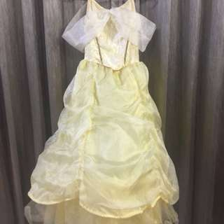 HK disneyland belle dress