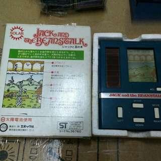 1983年古董太陽能 電子遊戲機 100%work