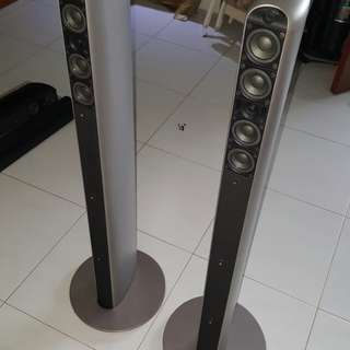 Audica SC tower speakers new at $1.8k