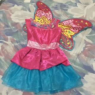 Barbie Mariposa Gown/Costume