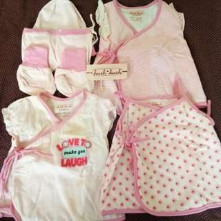 Set Baby Girl Clothes
