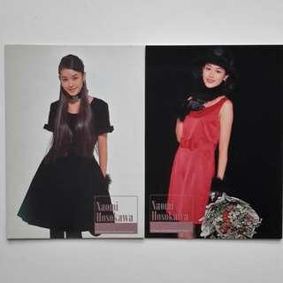 日本女星 兩張卡  ( 124 )