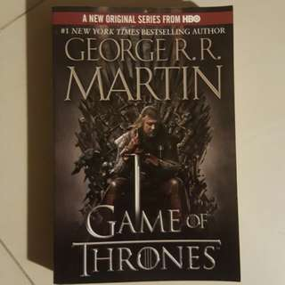 Game of Thrones by George R.R. Martin #SpringClean60