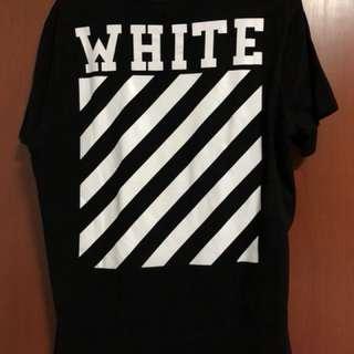 UA off white tee