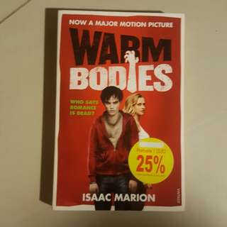 Warm Bodies by Isaac Marion #SpringClean60