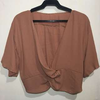 Autumn Criss Cross Top
