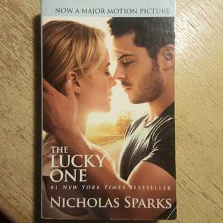 The Lucky One by Nicholas Sparks #SpringClean60