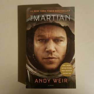 The Martian by Andy Weir #SpringClean60