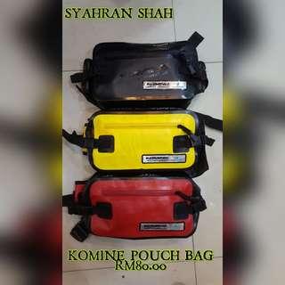 🇲🇾 KOMINE POUCH BAG 🇲🇾  100% WATERPROOF   RM80.00 🇲🇾 RM80.00 🇲🇾 RM80.00 🇲🇾  BERMINAT WHATSAPP SAYA  SYAHRAN SHAH http://www.wasap.my/60182346370/KominePouchBag