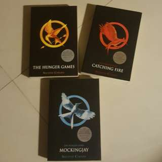 [FREE GIFT & POSTAGE] The Hunger Games Trilogy #SpringClean60