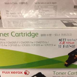 New Xerox toners