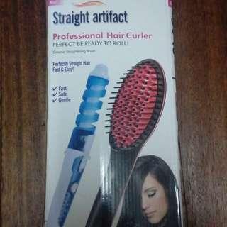2 in 1 Hair curler straightener