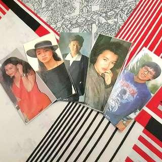 Old school idol bookmarks