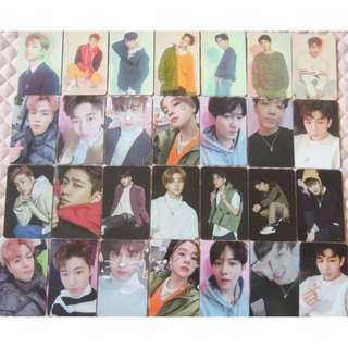 iKON Love Scenario Photocards .