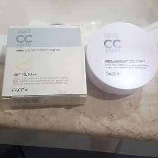 Case only! The face shop CC cushion color control