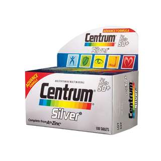 advance forumla centrum silver 100 tablets