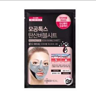 Mediheal Mogongtox Soda Bubble Mask Sheet