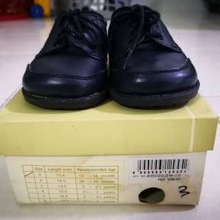 Boy infant dress shoe