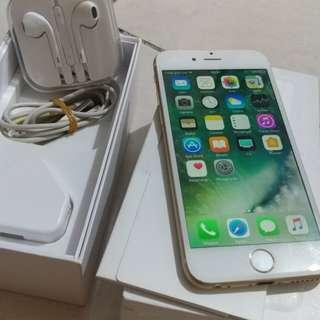 iPhone 6 16GB Gold 4G LTE Komplit Mulus iCloud Aman