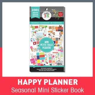 [INSTOCK] Happy Planner® Mini Sticker Sheets, Seasonal