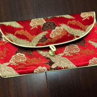 🚚 《全新》中國風信封式錢包