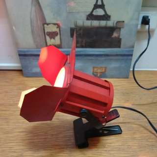工業風照明燈