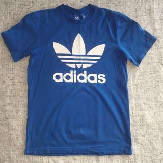 ADIDAS Blue Graphic Tee