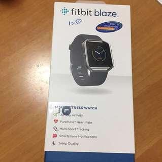 Fitbit blaze smart fitness watch size L black