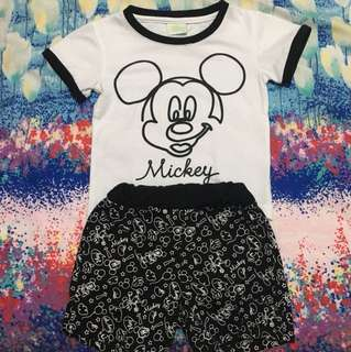 Mickey mouse baby sets