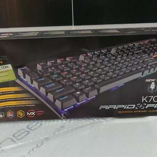 Corsair K70 RGB Rapidfire MX speed