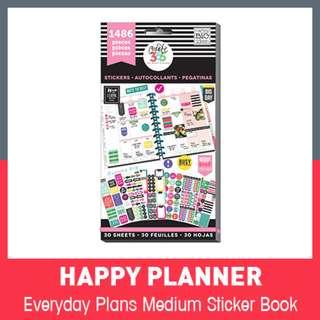 [INSTOCK]  Happy Planner Stickers - Everyday Plans 1486