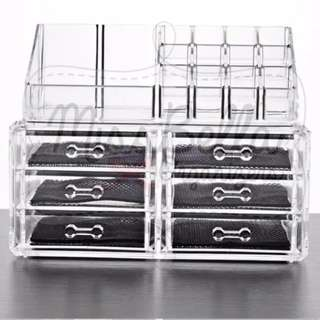 6 drawers Makeup Storage Acrylic Organizer