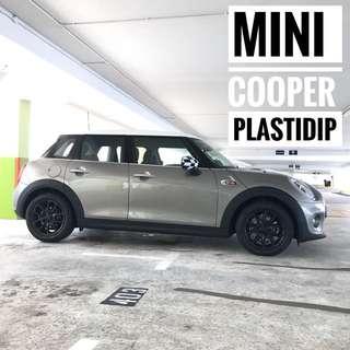 Mini Cooper Plastidip Mobile Service Plasti Dip