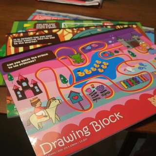 Popular Art Block B4 20sheets Brand New!