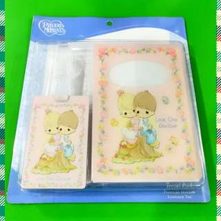 Precious Moments Passport Holder & Luggage Tag
