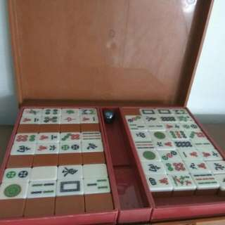 Vintage Mahjong Set From The 70s