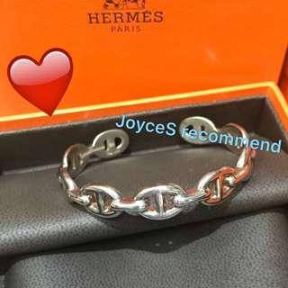 Hermes Bracelet SH size silver Enchainee 925手鈪