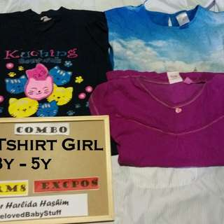 Tshirt Girl 2y up to 4y